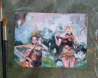 Song of Fey- 6x8in print