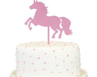Unicorn Mirror Cake Topper