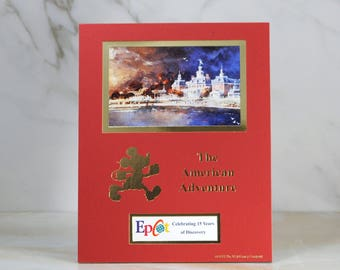 Vintage Disney 1998 Cast member Exclusive limited print Celebrating 15 Years of The American Adventure, 2 0f 4