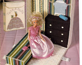 Fashion Doll La Boutique Plastic Canvas Pattern Annies Attic