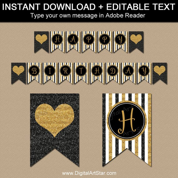 50th birthday decorations 50th party banner 50th. Black Bedroom Furniture Sets. Home Design Ideas