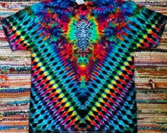 Size Large Men's Tie-Dye T-shirt
