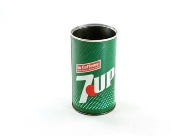 Vintage Steel 7-Up Can