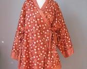 Kimono Jacket / Vtg / Ora...