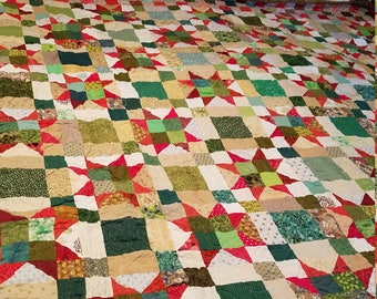 King Size Christmas Quilt - 100 x 104