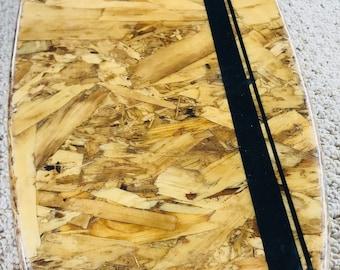 Reclaimed wood Surfboard wall hanger/coat rack