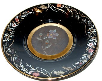 Bellflower First Issue of The Japanese Blossoms of Autumn Collector's Plate From The Hamilton Collection