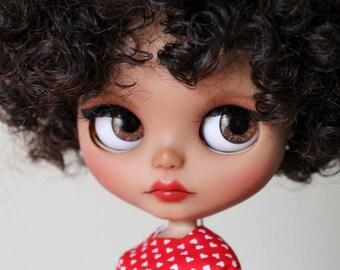 Alia a gorgeous custom Blythe doll