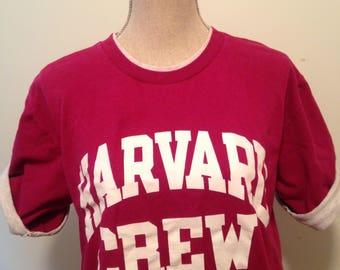 Vintage Harvard University Crew early 90s Tshirt