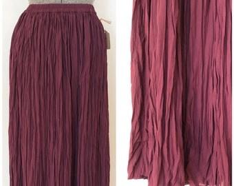 """Vintage Express Skirt  / 26-32 """" Waist / Maxi Skirt"""