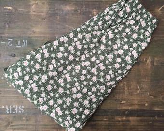 Flower Print Harem Trousers