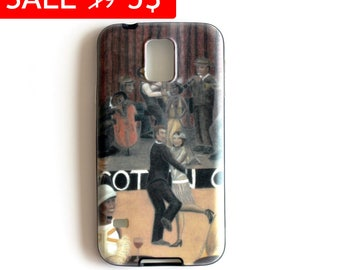 Winter Sale Twenties illustrated cell phone cover Soft TPU Gel Silicone case for Samsung Galaxy s5