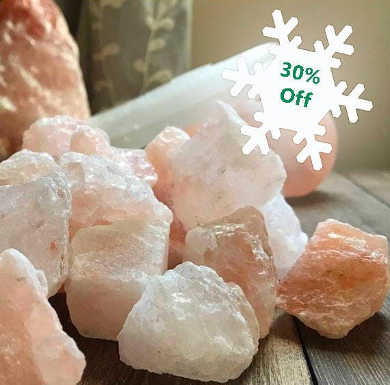 Pink, Himalayan Salt, Altar, Bath and Beauty, Spa, Grounding Stone, Earth Element, Craft Supplies, Spa Supplies,