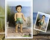 AG Boy Doll -- Swimming Trunks