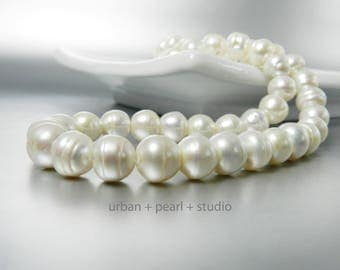 Affordable Long Pearl Necklace Freshwater Baroque Pearls Gift Under 50 Dollars
