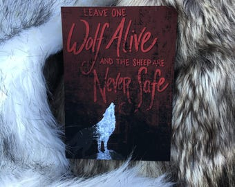 Game of Thrones - Leave One Wolf Alive