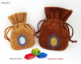 Legend of Zelda: Rupee Bags Only - Adult Wallet / Giant Wallet