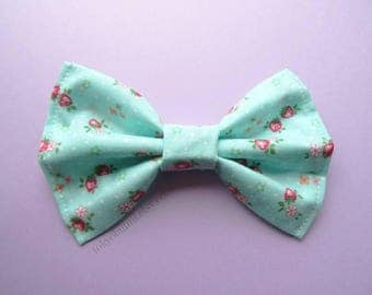 Blue Kawaii Strawberry Hair Bow- Kawaii -Fairy Kei -Pastel Goth-Cute - Harajuku - Sweet Lolita