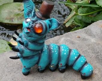 Steampunk Resin Baterpillar
