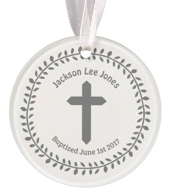 Baptism Ornament Christmas Ornament By Ryellecreations On Etsy: Items Similar To Baptism Ornament, Christmas Ornament