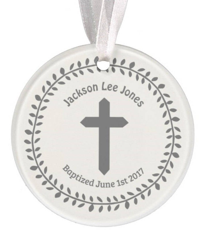 Baptism Ornament Personalized Christmas Ornament Christening: Baptism Ornament Christmas Ornament Personalized Baby
