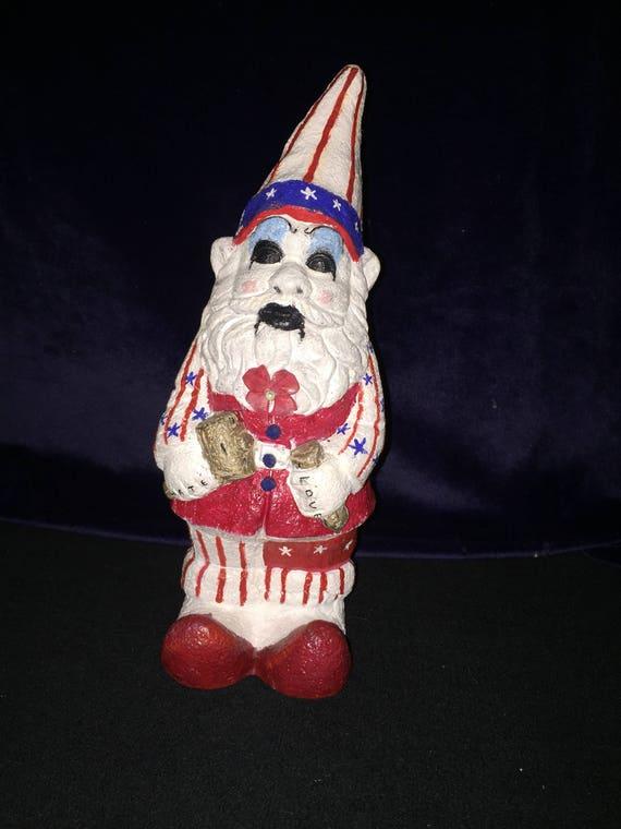 Captain Spaulding Garden Gnome Original Biohazard Baby