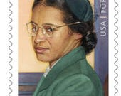 5 Unused Rosa Parks Forever Stamps // Sixties Civil Rights Postage Stamps for Mailing