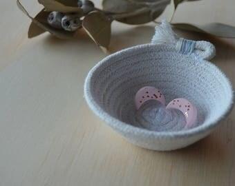 Handmade Cotton Rope Ring Dish