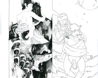 Mirenda #4, Page 15 Original Artwork