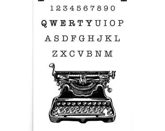 QWERTY Photo paper poster