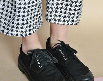 90s RETRO sneakers CANVAS sneakers PALLADIUM sneakers  textile sneakers wabi sabi sneakers japanese sneakers / size 6.5 us / 4 uk / 37 eu