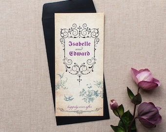 GISELLE // Wedding Stationery // Invitation