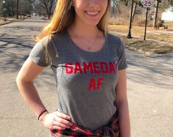 Game Day AF T-shirt, Gameday Shirt, Football Shirt, Game Day Tee, Football Saturday, Football, Volleyball