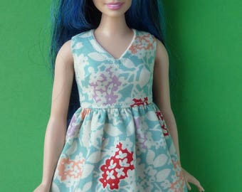 Dress for Barbie CURVY dolls.