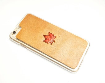 Leather Galaxy S9 Case | Maple Leaf