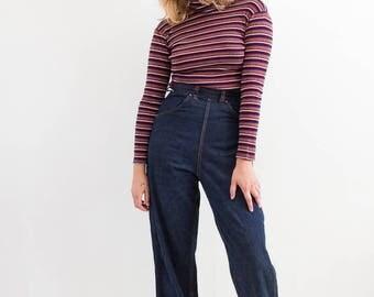 vintage 1940s montgomery 101 denim pants | S