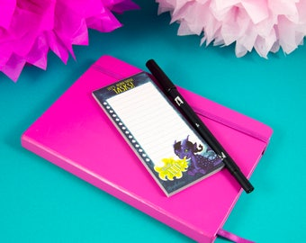 Sassy Dragon To Do List - Cute Note Pad - Check List - You Are Lit - Stationery