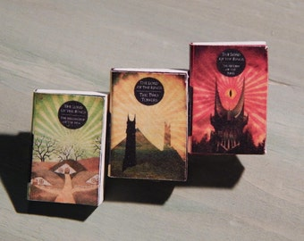 Lord of the Rings Tilogy Tiny Books Brooche