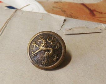 Bavarian Army Corps Button Military Brass Button