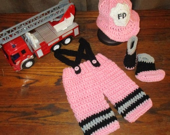 Fireman Outfit for Baby