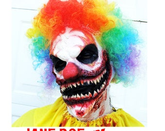 Scary clown costume | Etsy