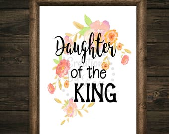Daughter of the King 8x10 digital jpeg file