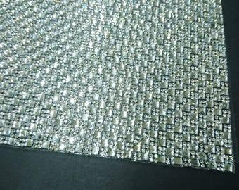 Clear, Glass Rhinestones Hot fix, Hot-Fix Mesh Sheet, 2mm, 24x40cm