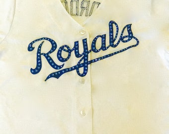 MLB Swarovski Crystal Baseball Jersey