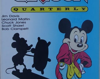 Mickey Mouse Cover Cartoon Quarterly Premiere Issue 1988
