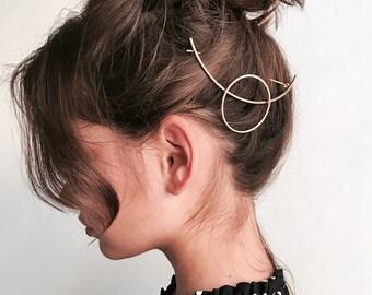 ON SALE Geometric Hairpin