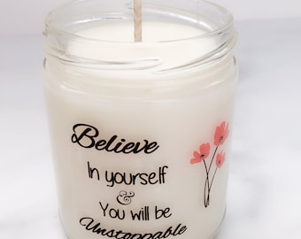 Inspirational Candle Gift~Mother's Day Gifts~Get Well Gifts~Gifts of Encouragement~Graduation Gifts~Milestone Candles~Gift for Daughter