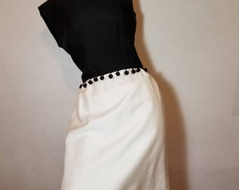 FREE  SHIPPING   1950 Hourglass DRESS