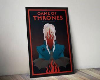 Game of Thrones Daenerys Targaryen Mother of Dragons