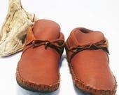 Adult Women's Moccasin / Inca style low cut / Minimalist shoes / Festival shoes